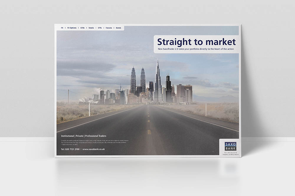 advertising campaigns, Form Advertising, campaign, advert, Saxo Bank