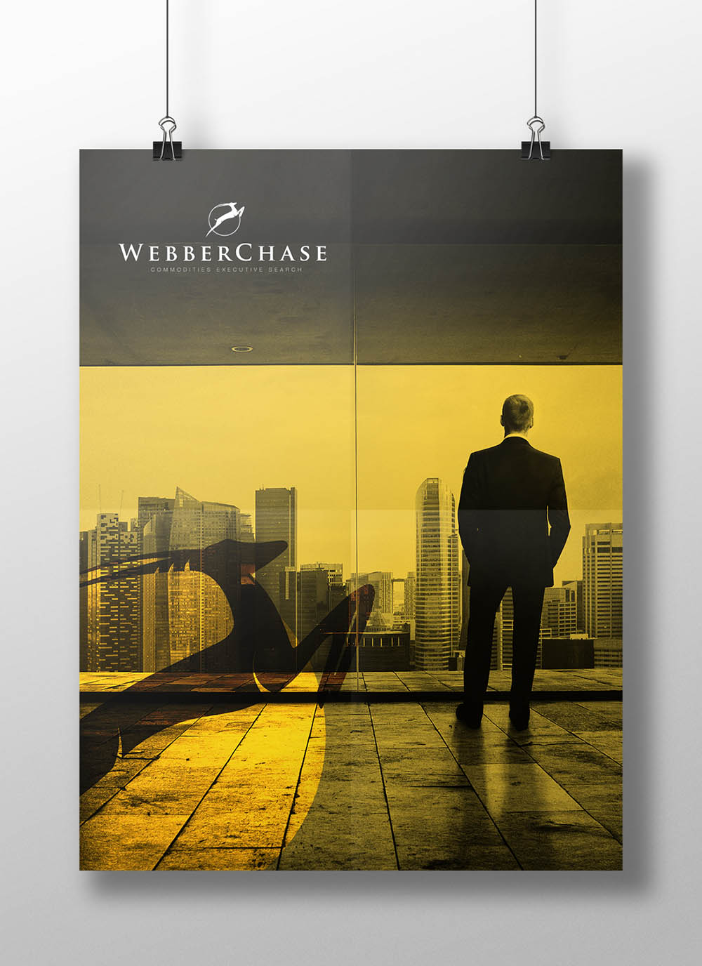 webberbrand poster, Webber Chase, brand identity, Form Advertising, brand creation, logo, branding, advertising, poster
