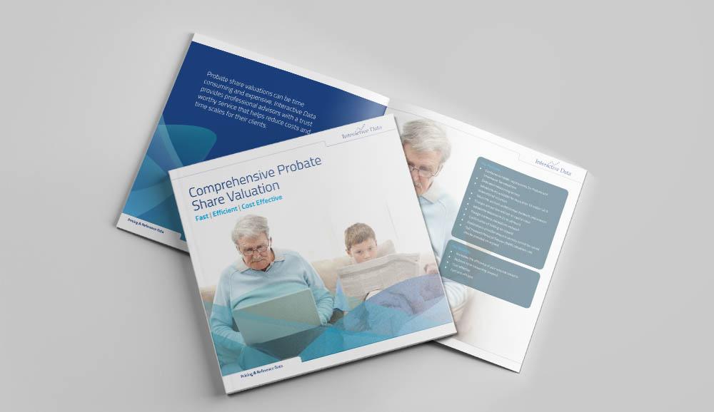probate brochure, Interactive Data, Form Advertising, brochure